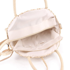 Handmade Round Beach Shoulder Bag