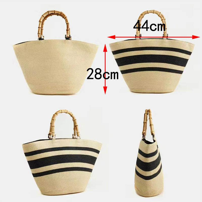 Handmade Grass Handbags mesuarments