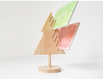 Christmas Tree Wooden Table Organizer