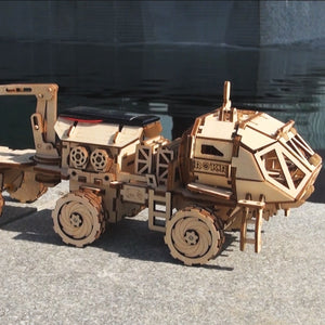 Creative 4 TYPES  Moveable Solar Energy Powered Building Kits