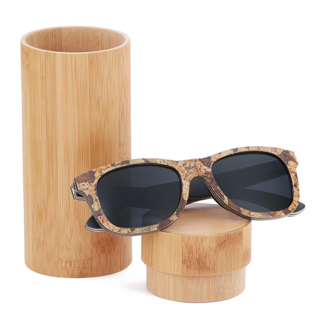 Unisex Cork Sunglasses black