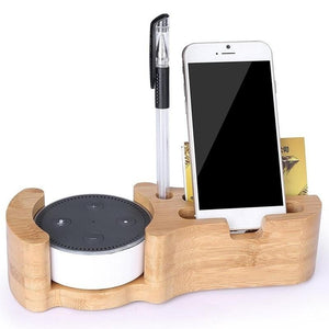 Echo IPhone 4 In 1 Bamboo Charger Dock Station BY carved nature