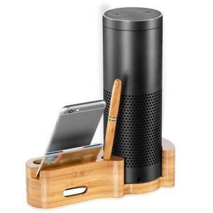 Echo IPhone 4 In 1 Bamboo Charger Dock Station