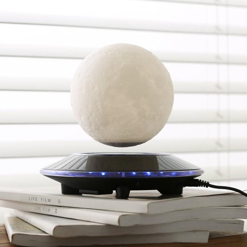 3D Magnetic Floating Moon Lamp