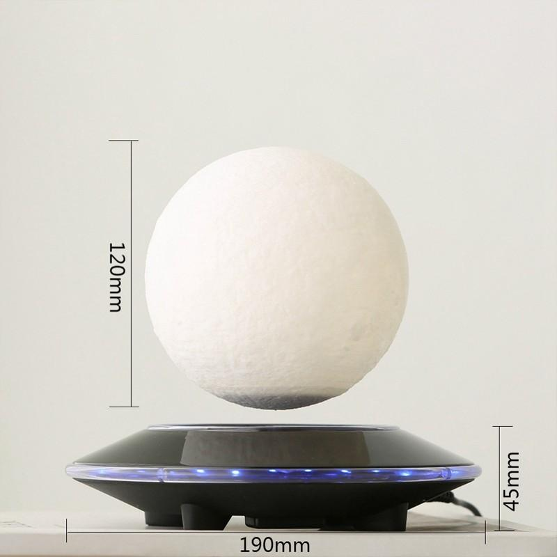 3D Magnetic Floating Moon Lamp custom gifts brands