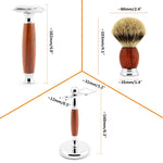 Rosewood 3 in 1 Shaving Kit measurment