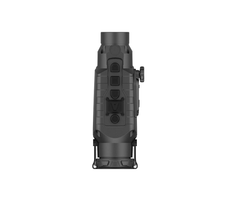 Atibal IGNITE Thermal Imaging Optic can be used as a handheld or rifle scope mounted thermal imaging device.  The IGNITE Thermal features an oversized viewing screen, 4 different color palettes, and 5 different scene modes.