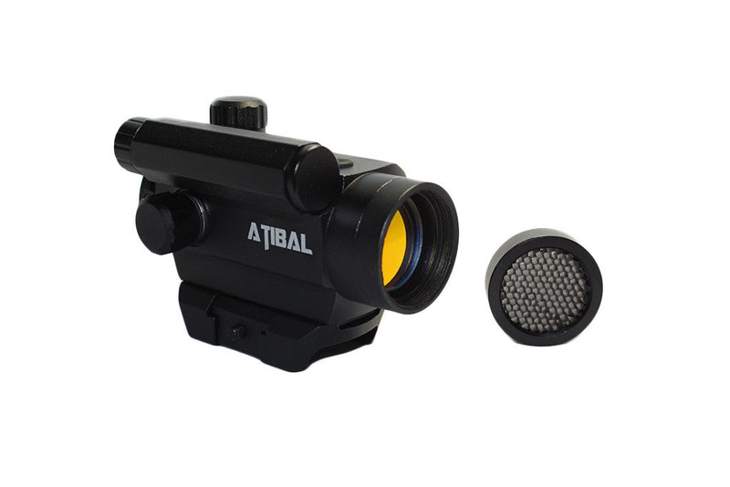 Atibal MCRD Micro Red Dot Sights feature 18 brightness settings, 2 operation modes, an auto shut-off function, and gets thousands of hours of battery life from one AAA battery.  Atibal MCRD Red Dots are available in low profile or absolute co-witness heights.