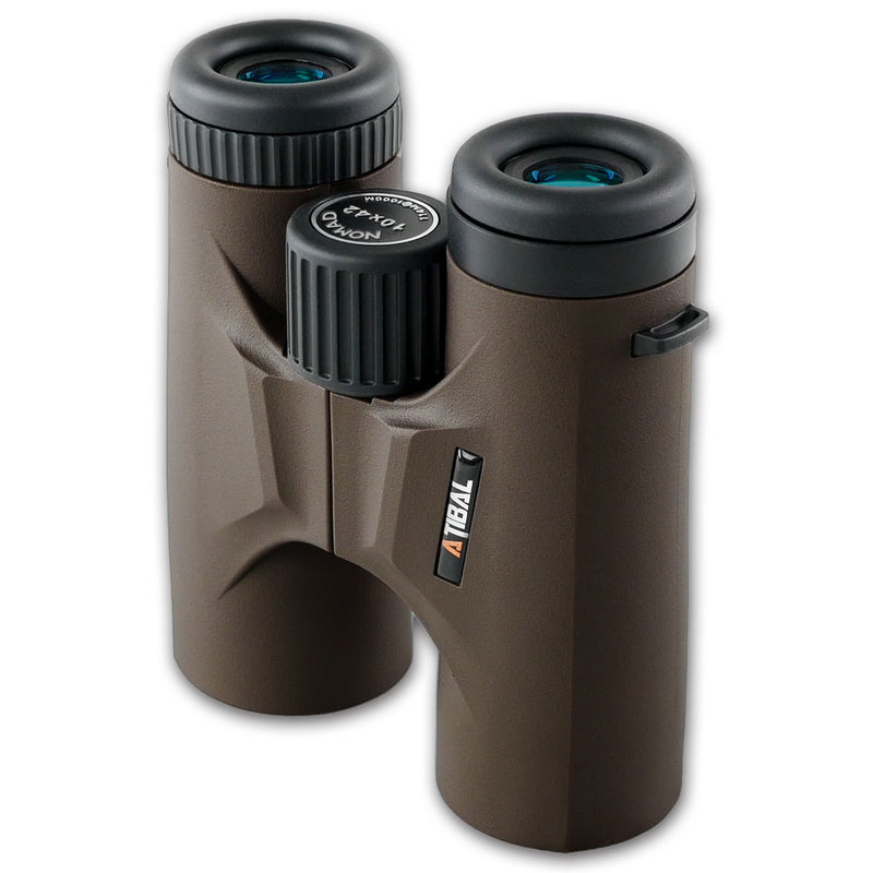 Atibal NOMAD Binoculars are the perfect addition to your hunting equipment. Lightweight and durable, the Atibal NOMAD Binos are loaded with features from an oversized focus control knob to rubberized armor, and with Atibal's Lifetime Warranty these will be the last binoculars you will ever need to buy.