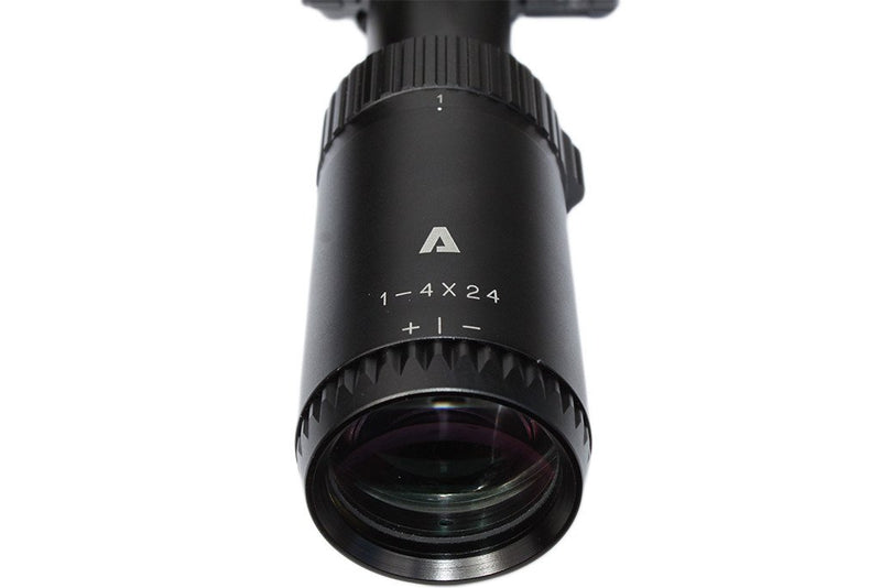 The Atibal STRIIKER 1-4x allows you speed and versatility in a variety of shooting environments. The high-quality, fully multi-coated lenses deliver a clear, crisp sight picture and optimal low-light performance.