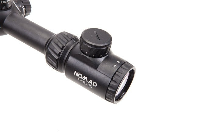 NOMAD 4-16X50 WITH V-PLEX BDC RETICLE (SFP)