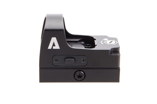 The Atibal MRD V2 Micro Red Dot is similar to the Trijicon RMR, Vortex Viper, and Vortex Venom red dot sights, but costs a fraction of the price.  This pistol red dot has a 4 MOA dot, 7 brightness settings, and a 5 hour auto shut-off.