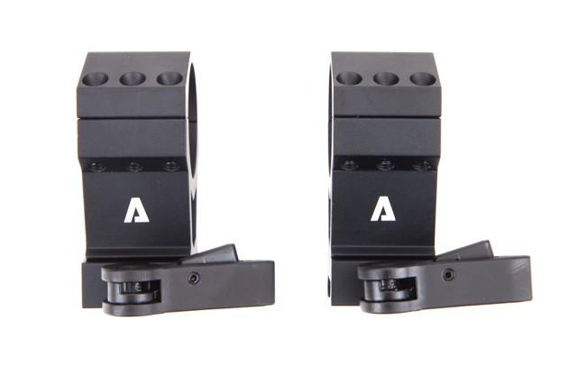 "Atibal has a wide array of Scope Mounts and Scope Rings to fit 1"" tubes, 30 mm tubes, and 35 mm tubes.  The Atibal TPM 30 mm Scope Mount features locking quick detach attachments and is available in red, blue, or black anodize."