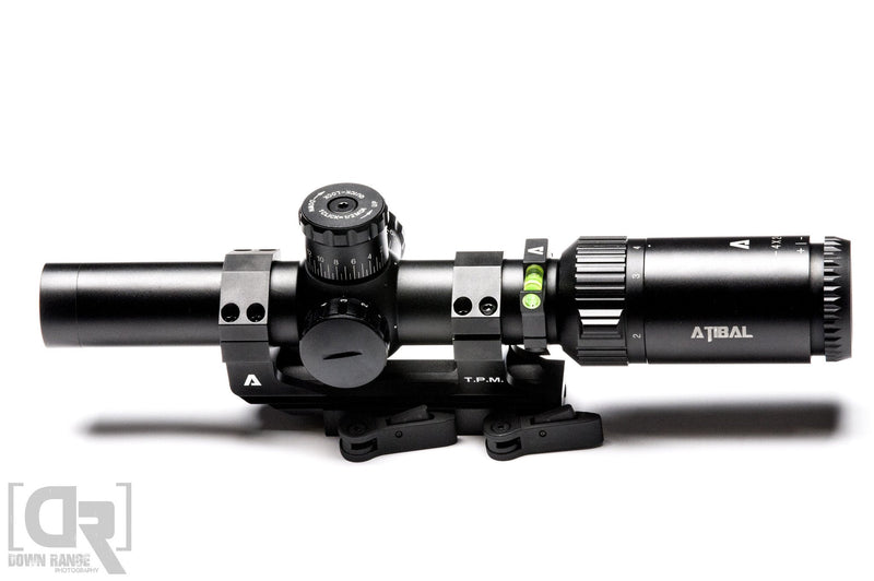 STRIIKER 1-4X24 5.56/.308 TCR BDC RETICLE SECOND FOCAL PLANE (SFP)