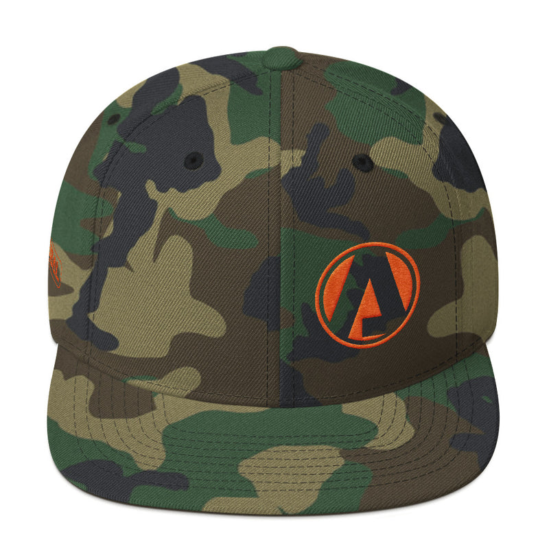 Atibal Shield Logo Flat Bill Hat