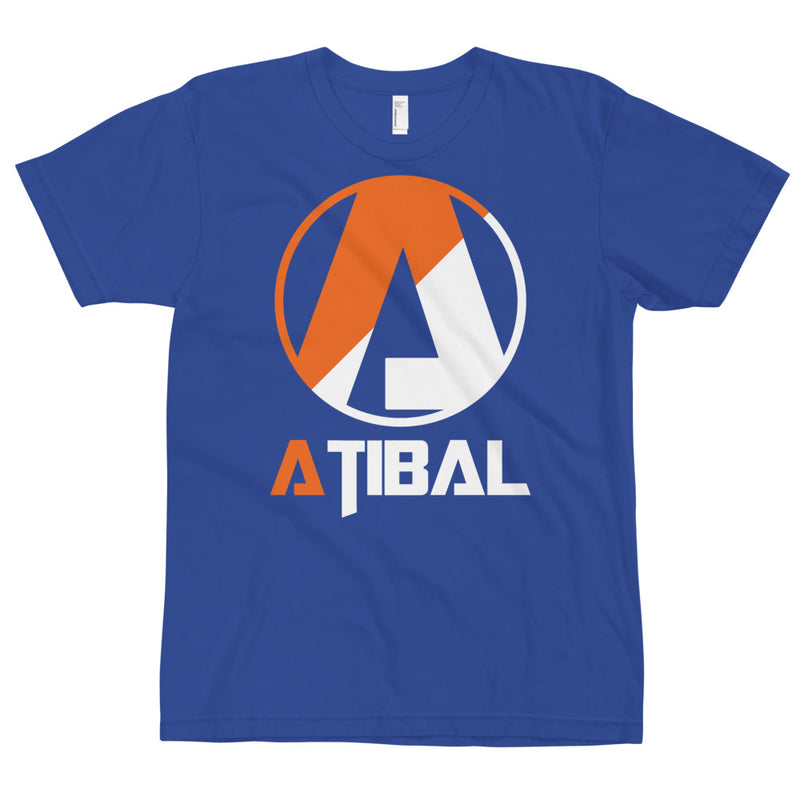 Atibal Shield Logo T-Shirt, 2-Tone