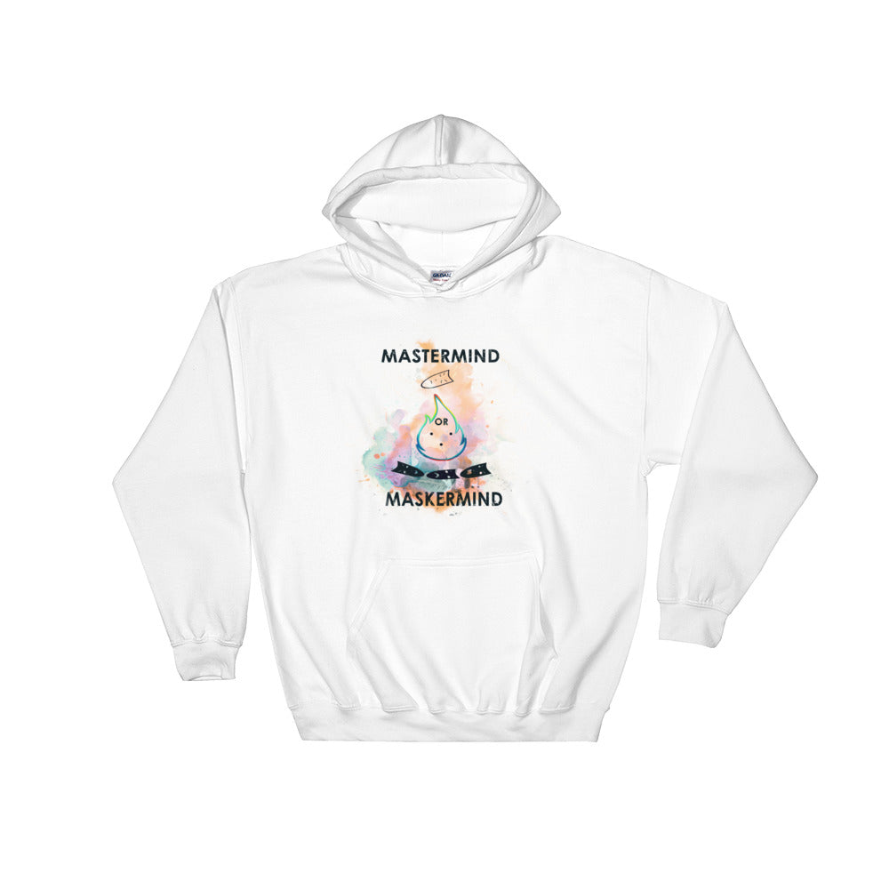 Masks of Life Hooded Sweatshirt - ConsoultLife