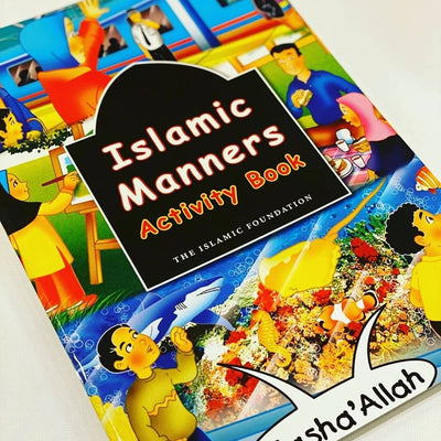 Islamic Manners - Activity Book