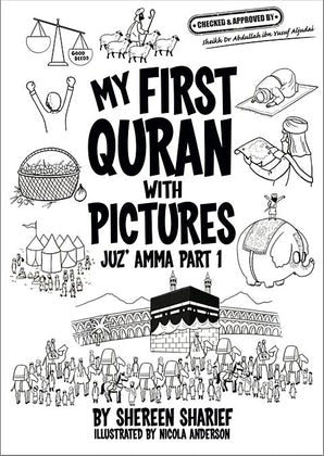 My First Quran with Pictures (Colouring Book)