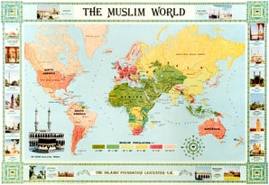 The Muslim World Map