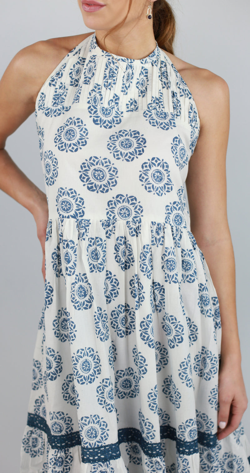 Sarah Summer Halter Dress