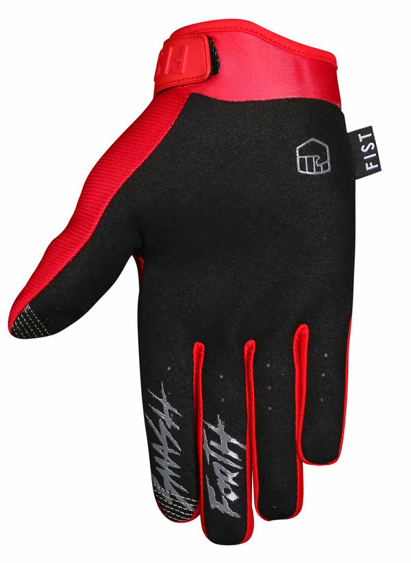 RED STOCKER GLOVE YOUTH