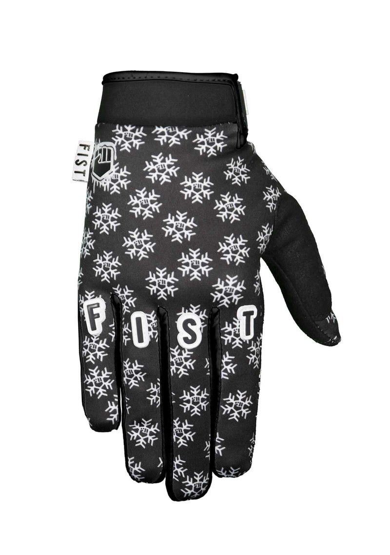 FROSTY FINGERS - BLACK SNOWFLAKE GLOVE