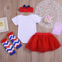 New 4th Of July Girls Outfit Sets
