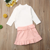 NEW 2020 Fall Fashion BABY GIRLS 2PCS SET OUTFITS SIZES 1YR-6YRS