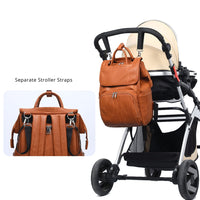NEW 2020 Fall Fashion Arrivals QUALITY PU LEATHER BABY AND MUMMY DIAPER BAGS