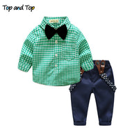 2018 Top and Top Autumn Baby Boy Clothing Sets Collection