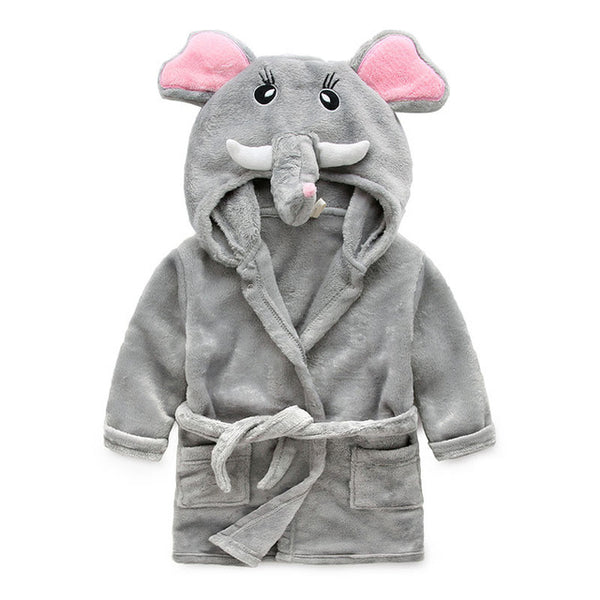 Childrens Animals Bath/ Sleepwear Robes Boys And Girls Collection