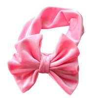 Brand New Baby Girls Knotted 6inch Bow Headbands