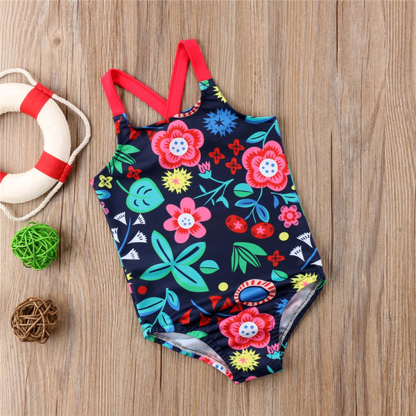 Brand New Baby Girls One Piece Swimwear Summer Collection Sizes 6M-5YRS