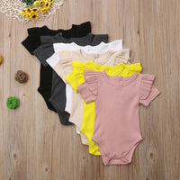 Brand New Summer Baby Girls Cotton Bodysuit Outfit Sizes 3M-24M