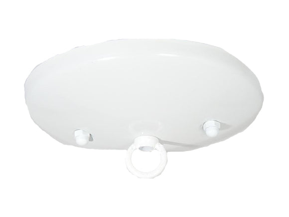 White Modern Shallow Canopy Kit
