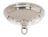 Nickel Plated 5 1/2 Inch Diameter Canopy Kit