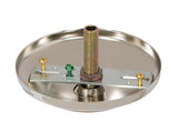 Nickel Screw Collar Canopy Kits