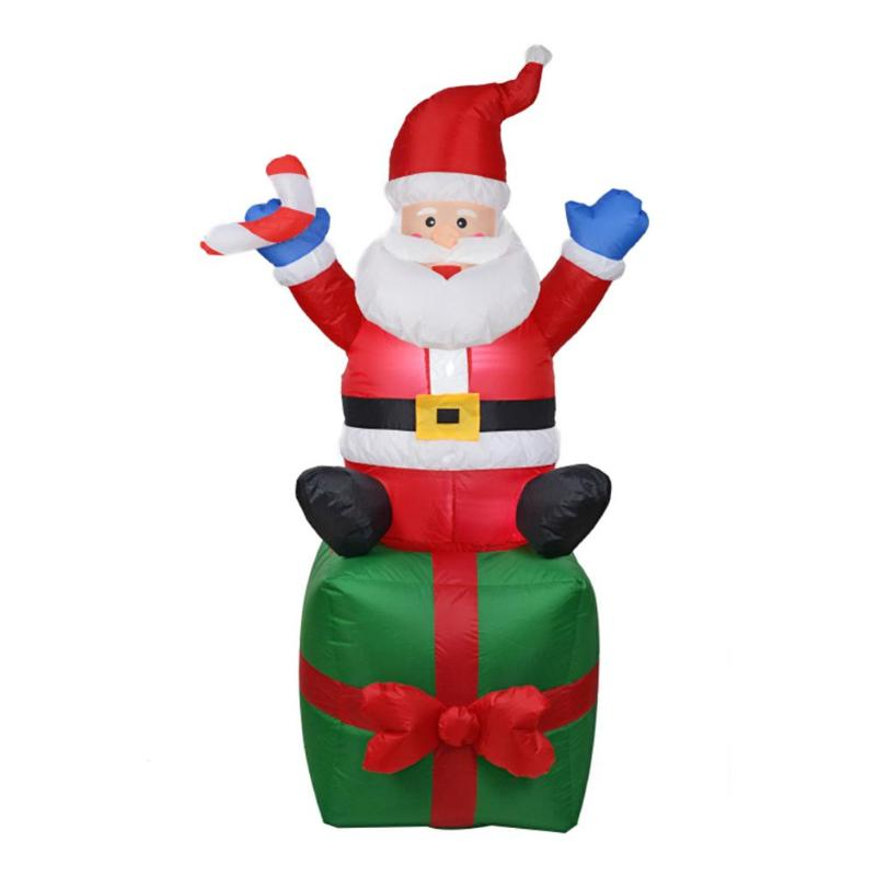 Inflatable Santa Claus Xmas Decoration