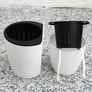 Automatic Water Absorption Wall Hanging Plant Flower Pot