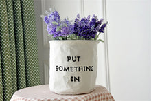 Decor Wall Flower Basket for Sundries storage plants and storage container