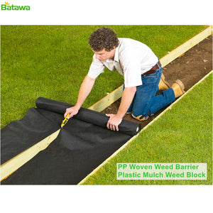 Landscape Ground Cover Heavy PP Woven Weed Barrier,