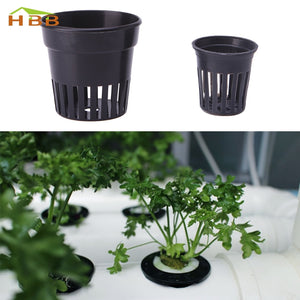 10pcs Plastic Pot Baskets  Aquatic Water Plant Grass Cultivate Planting