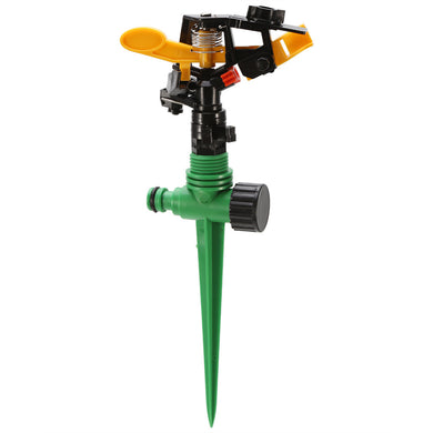 Garden Sprinkler Spike 360 Degree Adjustable Rotating Water Sprayer For Garden Irrigation System