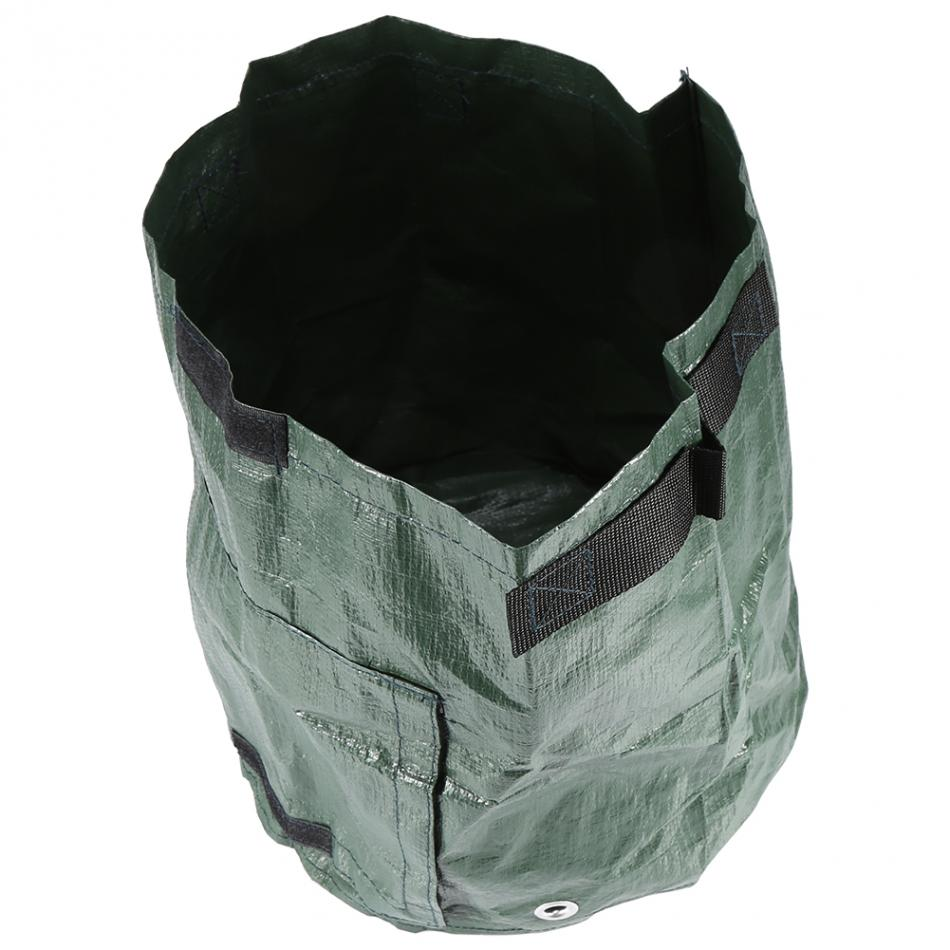 Potato Grow Bag Planter Container Bag with Side Window and Handles