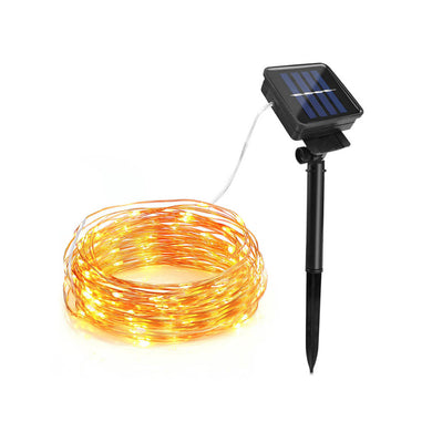 100/200 Led Outdoor Waterproof Solar Light Strip lamp- 10m 20m