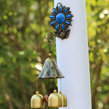 3 or 6 bell Ornament Windchimes for Garden or patio decorations