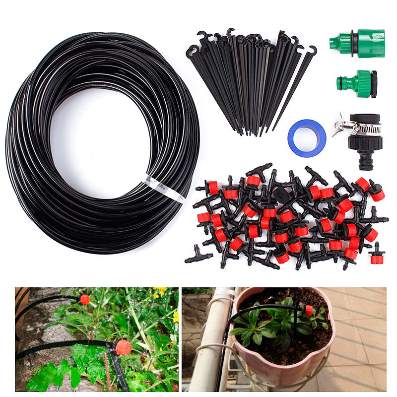 Automatic Micro Drip Irrigation System with Smart Controller DIY
