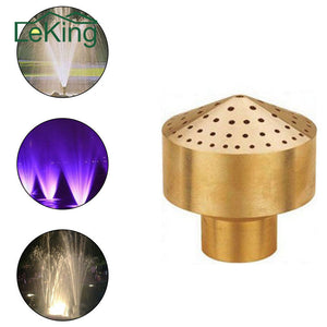 1/2''-2''' Brass Column Garden Pond Water Fountain Spray Head