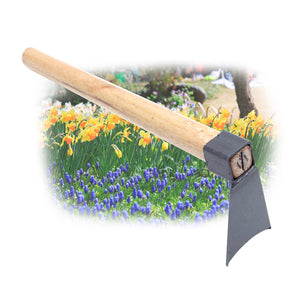 Hand Tool Hoe with Wooden handle